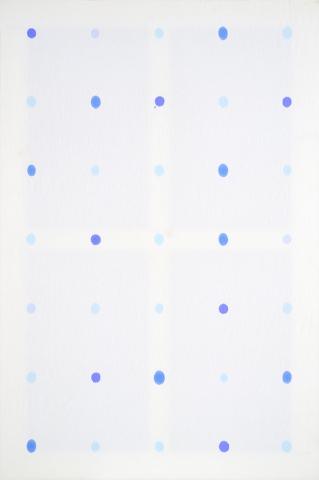 Volume, 1981, iniezione endotela, cm 150x100
