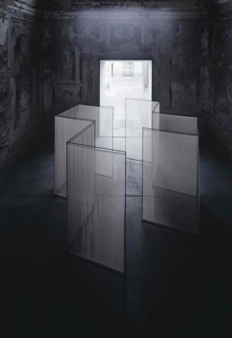 Senza Titolo, 2003, tecnica mista, cad cm 250 x 141