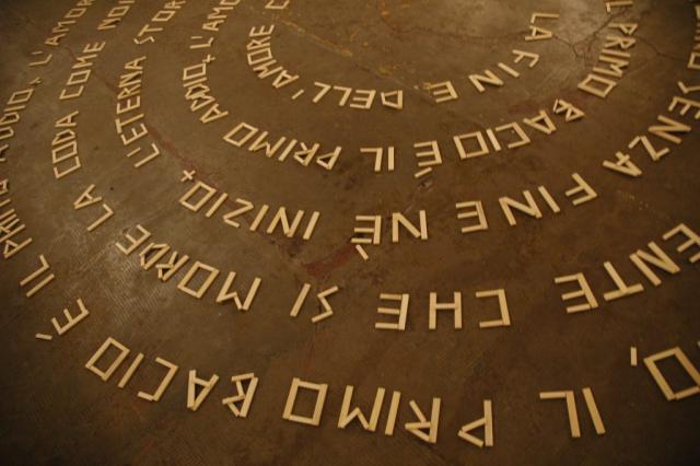 Gironde Poem, 2000, bacchetta di legno, cm 800 x 500
