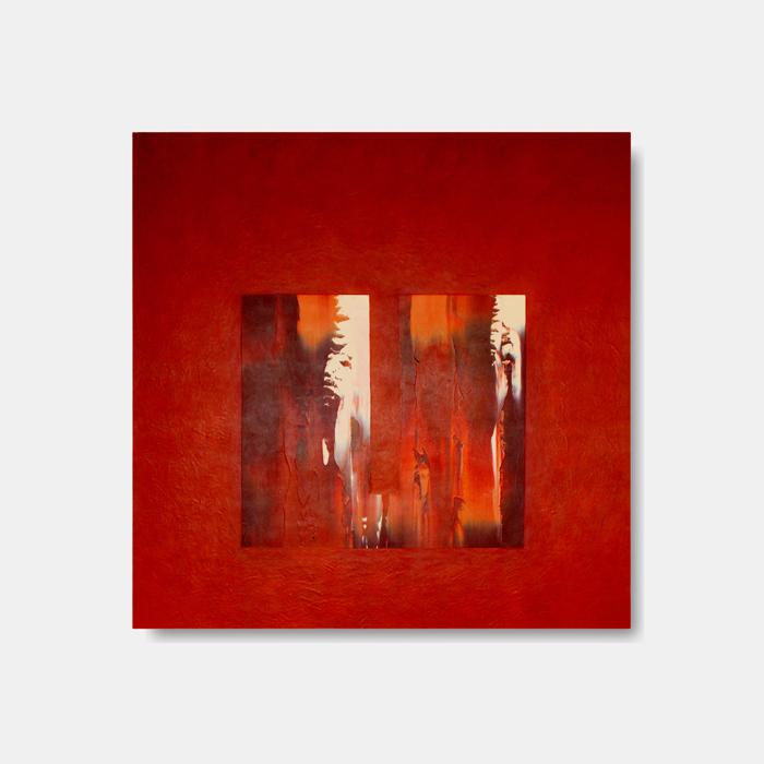 Nfb3, 2011, olio su tavola, cm 90 x 90