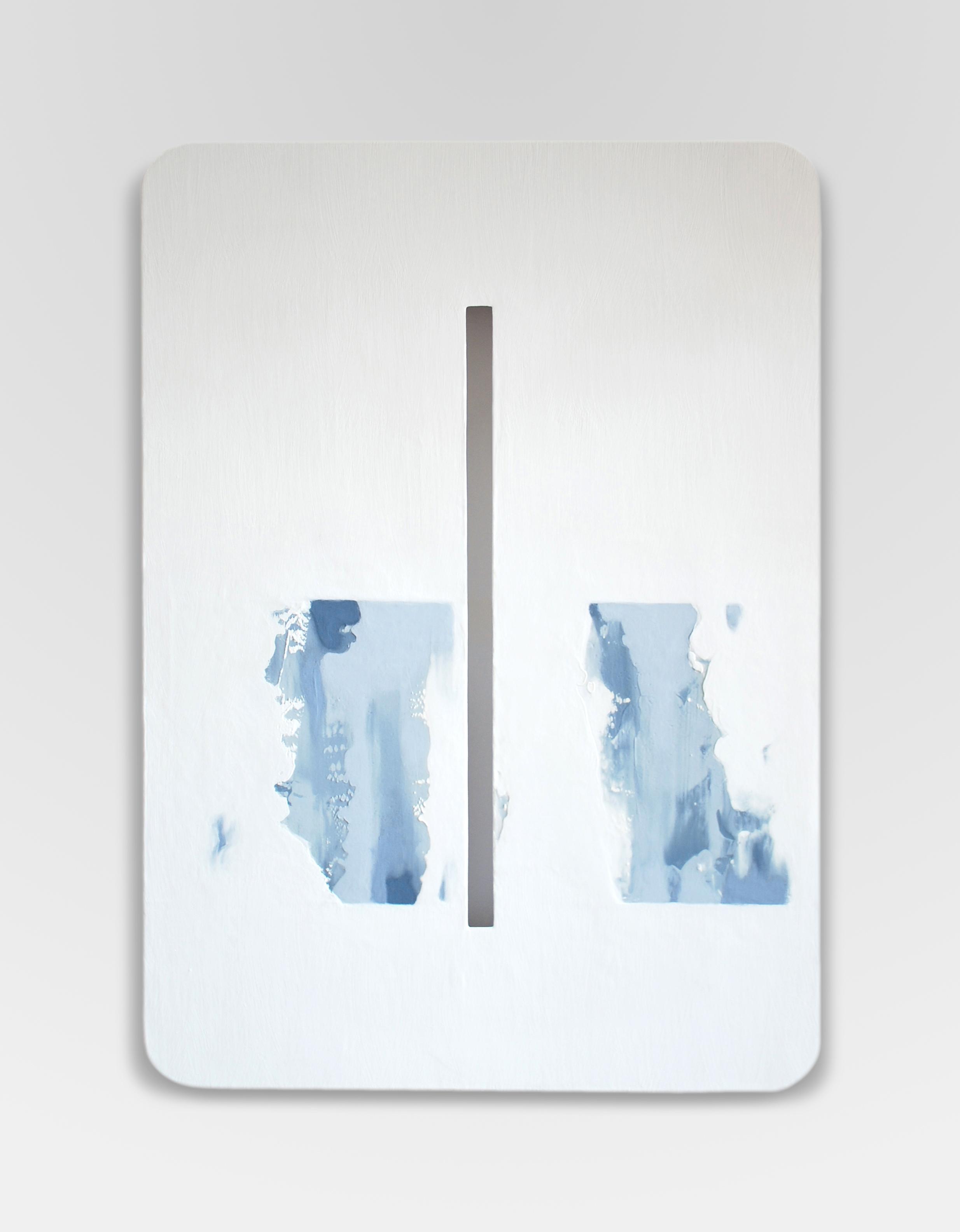Terzo meridiano, 2014, olio su tavola, cm 70 x 50