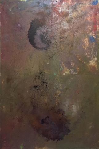 Untitled, 2016, tecnica mista su tela, cm 150x100